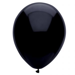 Black Latex 28cm Balloons