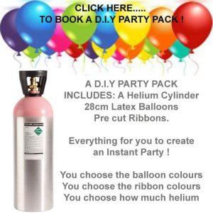 D.I.Y Helium Balloon Kit