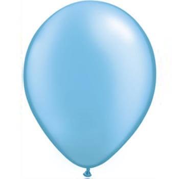 Pearl Blue 28cm latex balloons