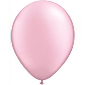 Pearl Pink Latex 28cm Balloons