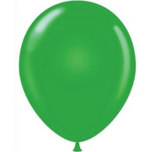 Green Latex 28cm Balloons