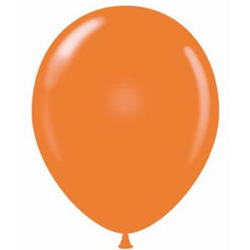 Orange Latex 28cm Balloons