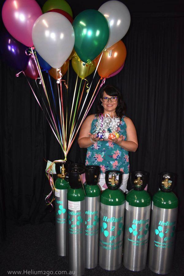 100 Balloon Helium Gas Kit Helium Balloon Gas Balloons