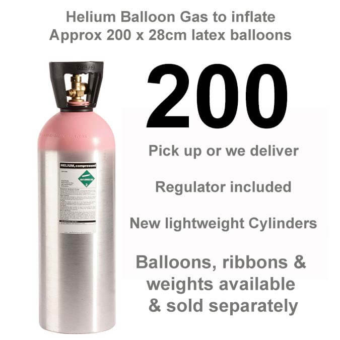 200 Helium Balloon Gas Cylinder Rental