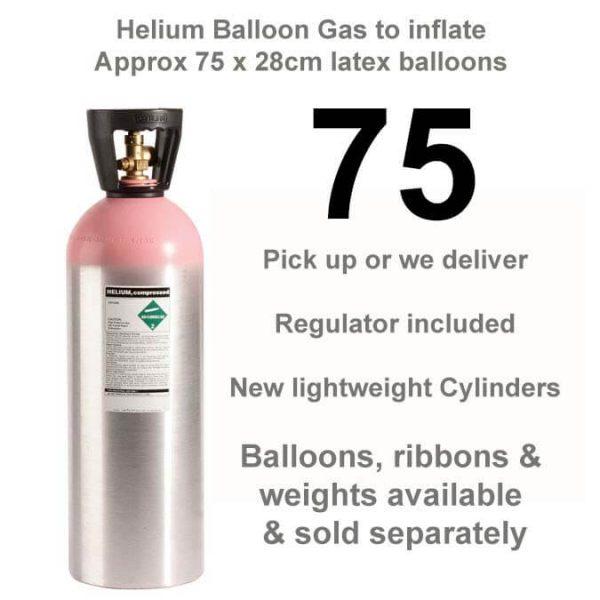 75 balloon helium gas cylinder