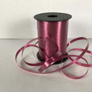 marooon curling ribbon