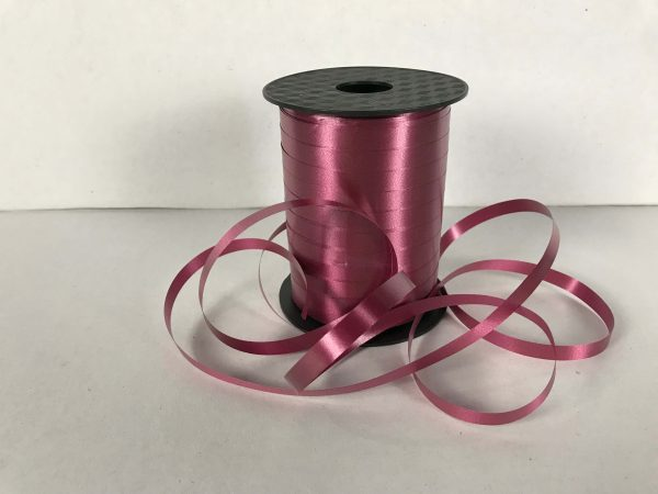 MAROON CURLING RIBBON