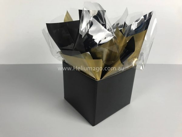 Black Posy Box Weight
