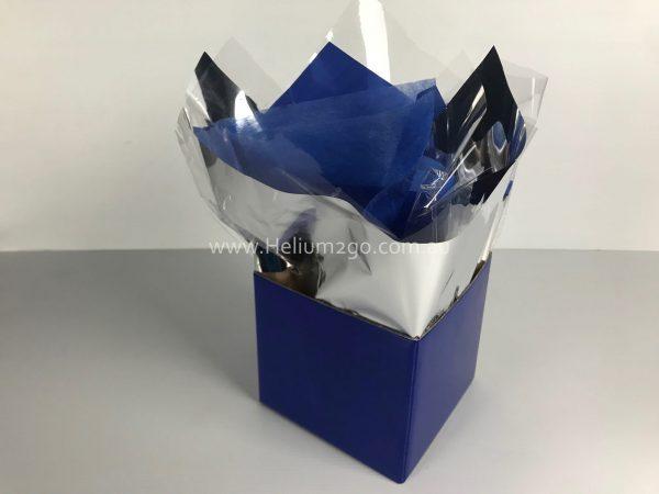 Blue Posy Box Weight