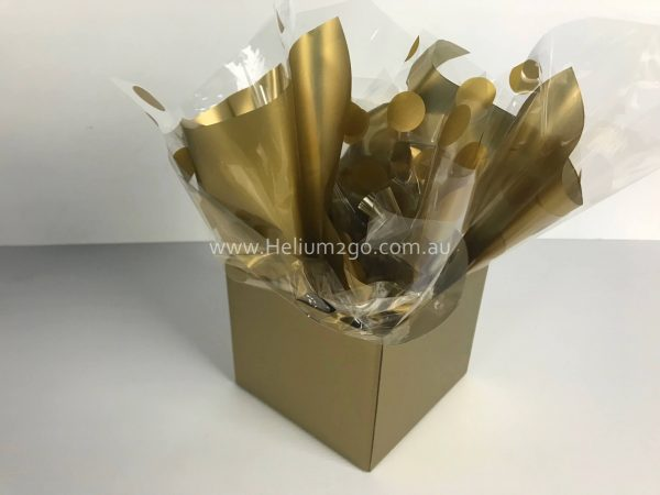 Gold Posy Box Weight