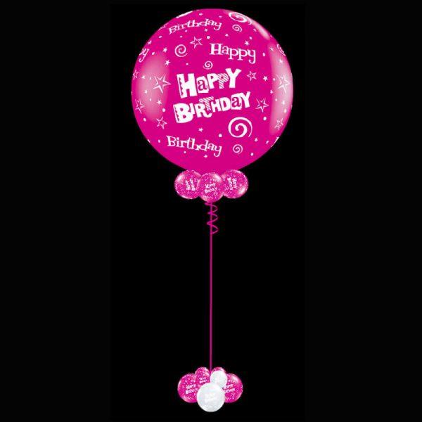 Jumbo 90cm printed latex helium balloon