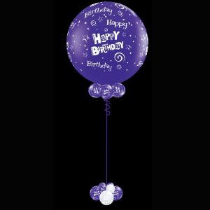 Jumbo 90cm printed latex helium balloon2