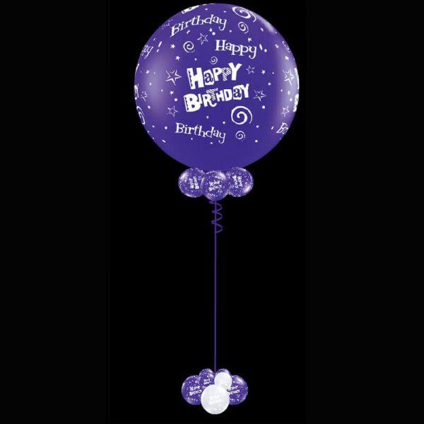 Jumbo 90cm printed latex helium balloon2