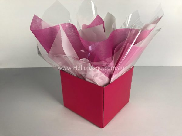 Magenta Posy Box Weight