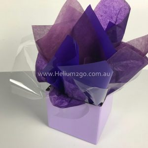 Mauve Posy Box Weight