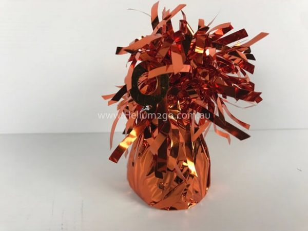 Orange Foil Weight