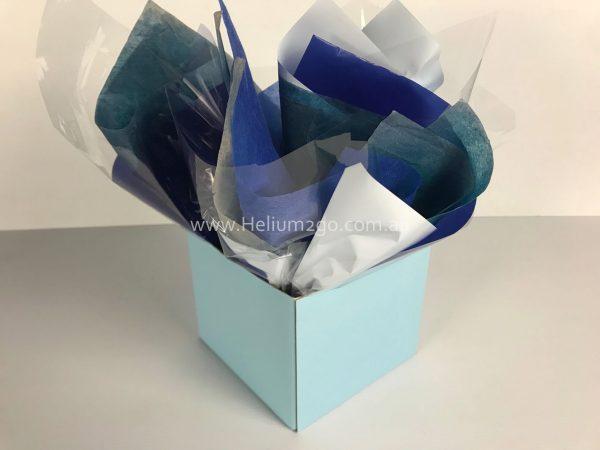 Pale Blue Posy Box Weight