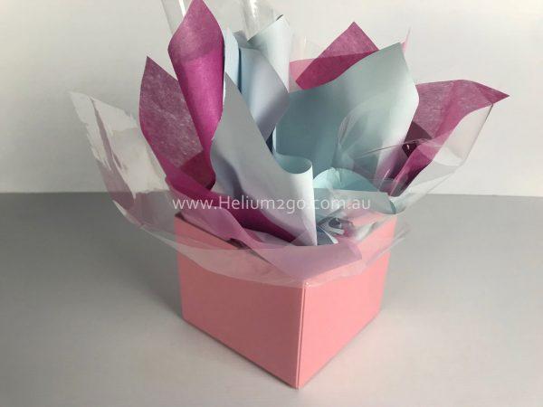 Pink Posy Box Weight