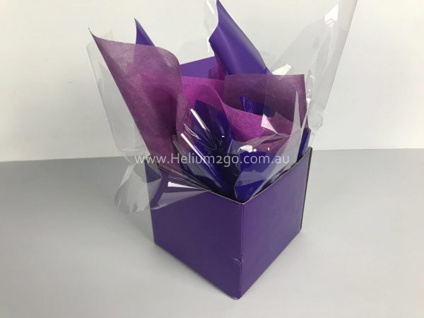 Purple Posy Box Weight