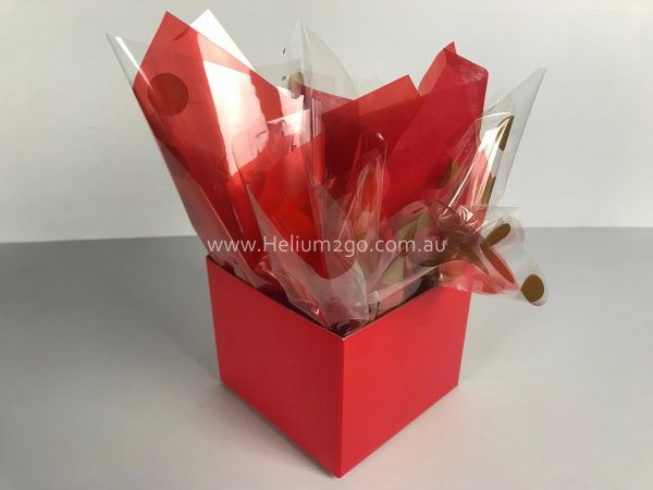Red Posy Box Weight