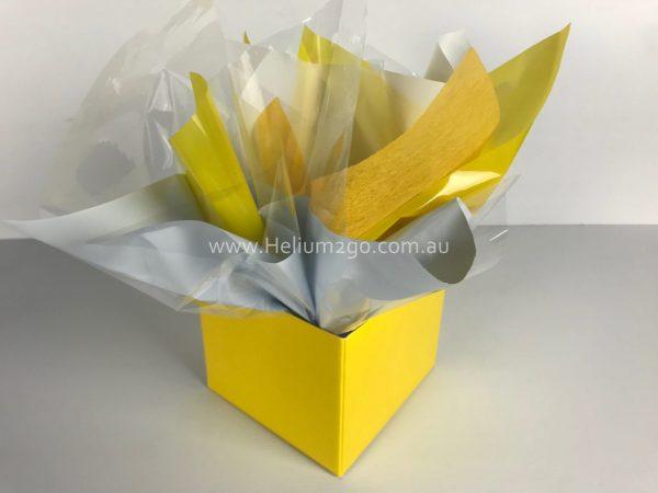 Yellow Posy Box Weight