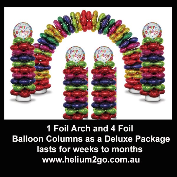 1 Arch 2 columns deluxe package