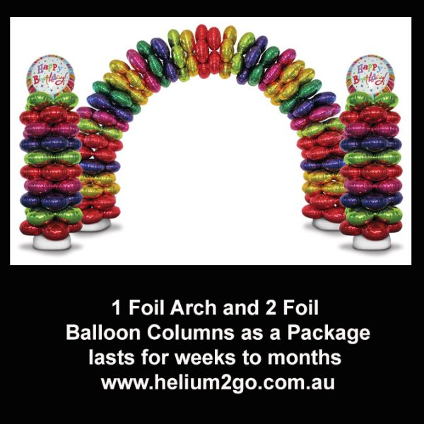 1 Arch 2 columns package