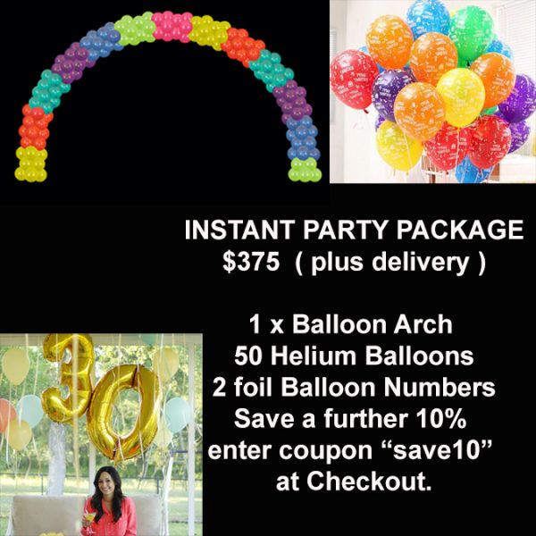 Instant party package special
