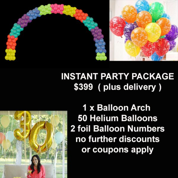 Instant party package