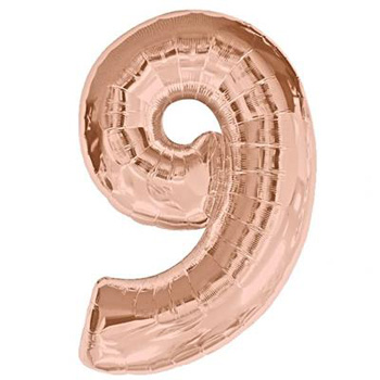 ROSE GOLD NUMBER 9