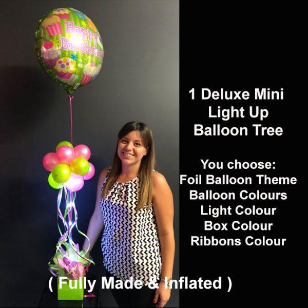 1 Deluxe Mini light up balloon tree2