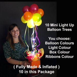 10 Mini light up balloon trees2