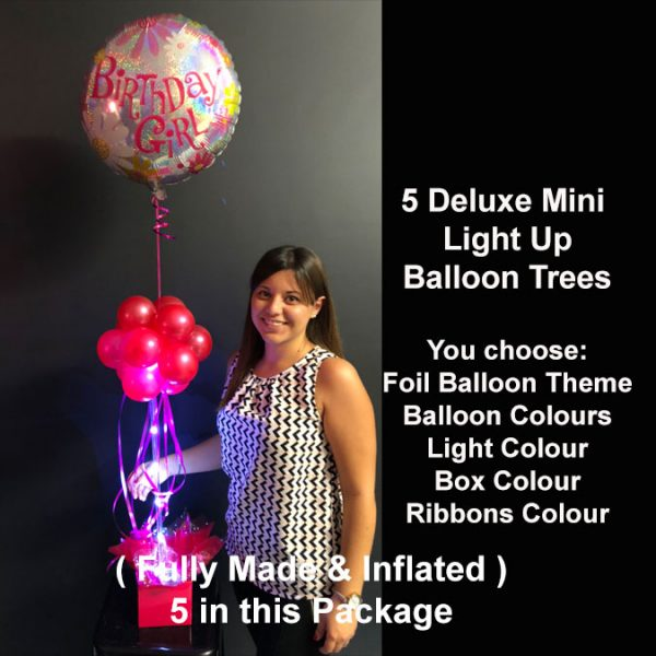 5 Deluxe Mini light up balloon trees2