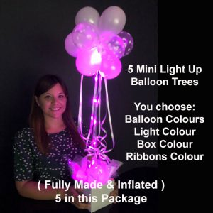 5 Mini light up balloon trees2