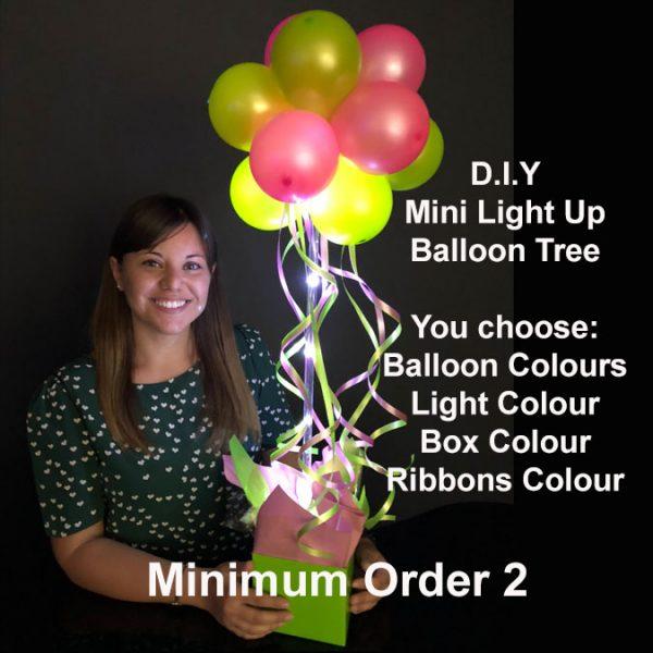 DIY Mini light up balloon tree2