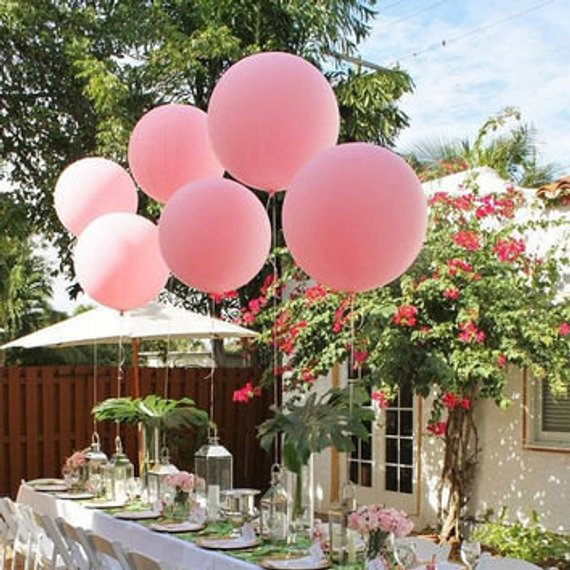 90cm latex balloons