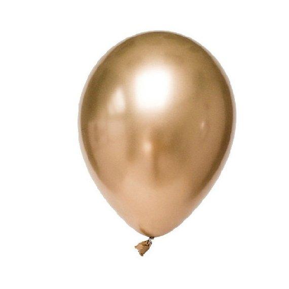 Gold chrome balloons