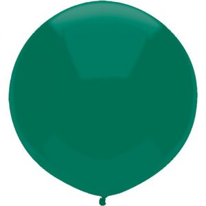 Forest Green 43cm latex outdoor balloons