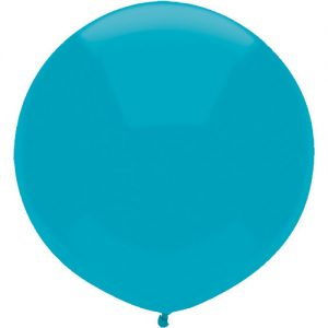 Island Blue 43cm latex outdoor balloons