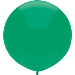 Jade Green 43cm Latex outdoor balloons