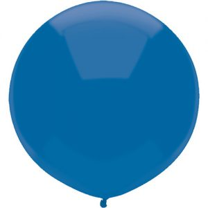 Midnight Blue 43cm latex outdoor balloons