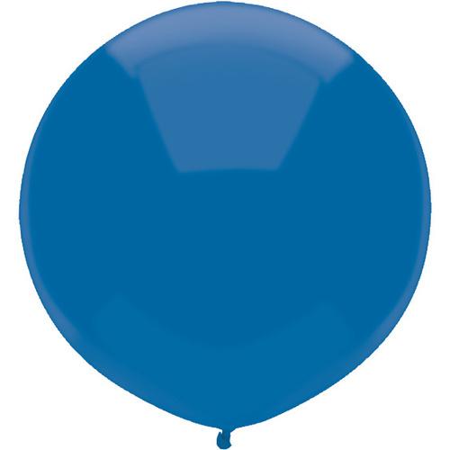 Midnight Blue 43cm latex outdoor balloons