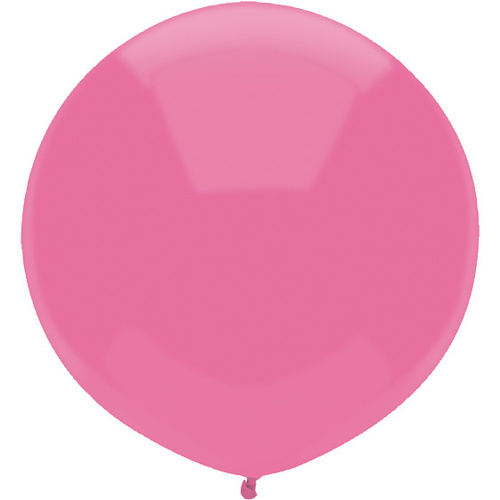 Passion Pink 43cm latex outdoor balloons