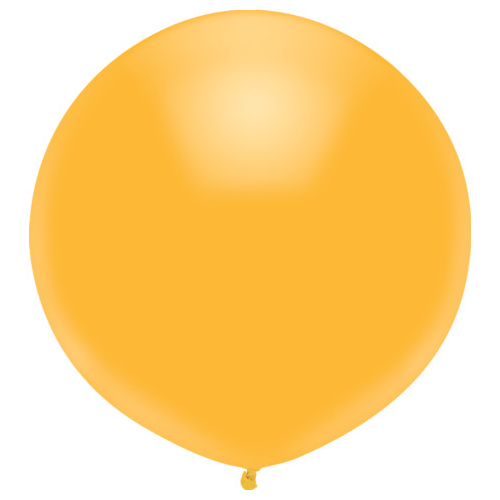 Radiant Gold 43cm latex outdoor balloons