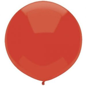 Real Red 43cm latex outdoor balloons