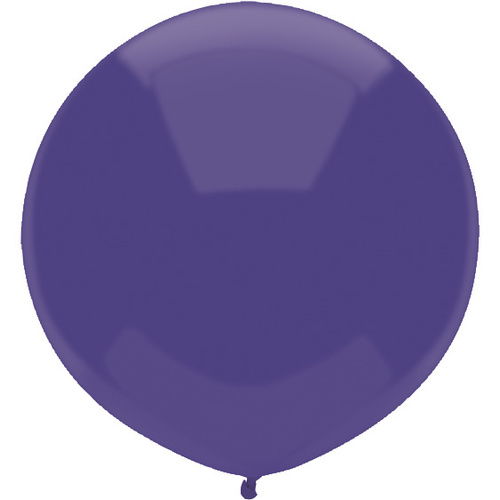 Regal Purple 43cm latex outdoor balloons