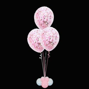 Bouquet of 3 Large Confetti balloons2 copy
