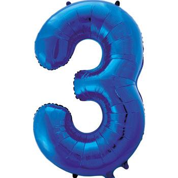 Blue-3-86cm-foil-balloon-number